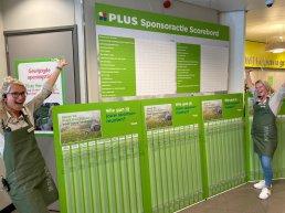 PLUS Dee Putten start een steun-sponsoractie voor de verenigingen in Putten