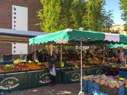 Weekmarkt op twee locaties