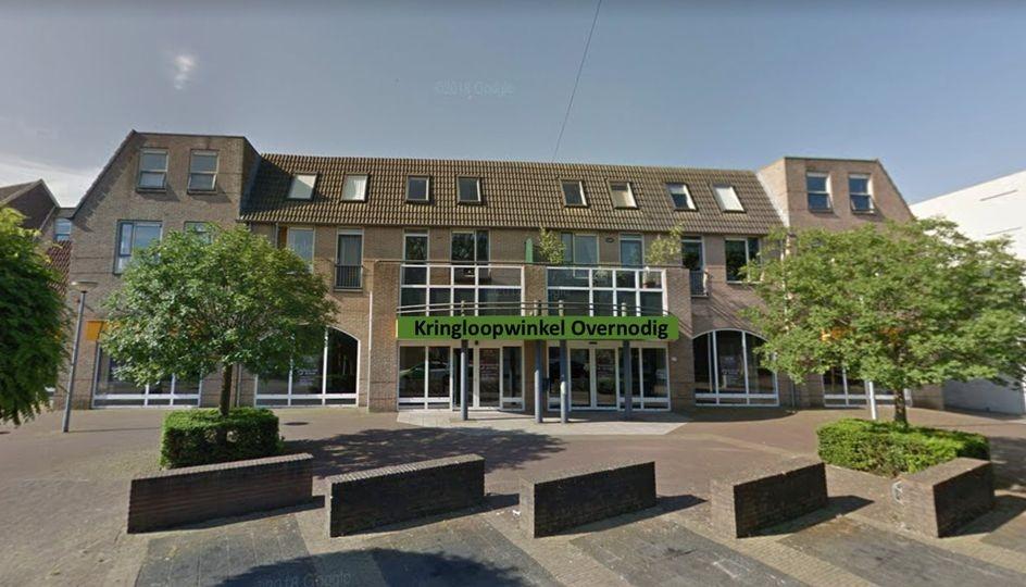 Gemeente ontvangt vleugel van Kringloopwinkel Overnodig