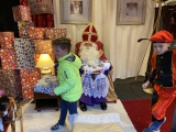 Sinterklaas had drukke middag in Putten