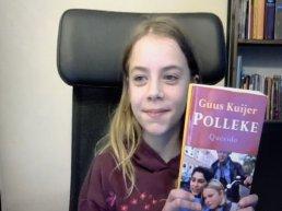 Amber van Eikenhorst wint voorleeswedstrijd in Putten