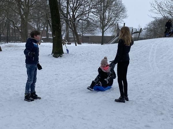 Sneeuwpret in De Groene Scheg 3