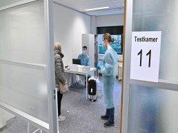 Nu ook snelle PCR-test voor zorg- en onderwijsmedewerkers in Harderwijk