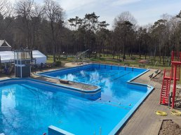 Bosbad Putten opent op 1 maart buitenbad voor baanzwemmen