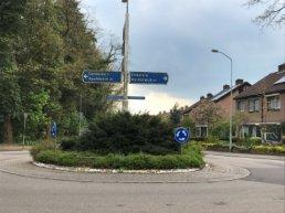Stikstof en Natura 2000 zitten reconstructie rotonde in de weg