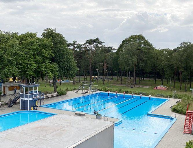 Buitenbad Bosbad Putten is geopend voor baanzwemmen
