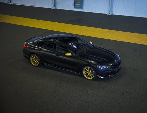 Exclusief bij Ekris BMW: BMW 8 serie Gran Coupé Edition Golden Thunder