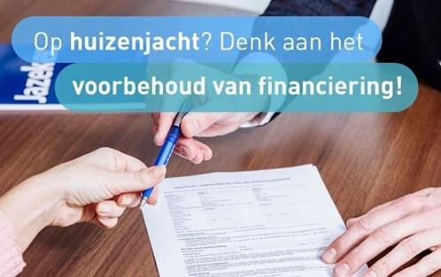 Nieuws van De Hypotheker: Op huizenjacht? Denk aan het voorbehoud van financiering!
