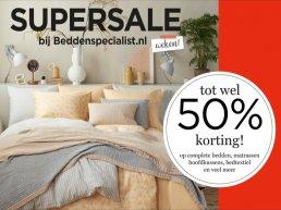 Supersale bij Beddenspecialist den Herder in Harderwijk